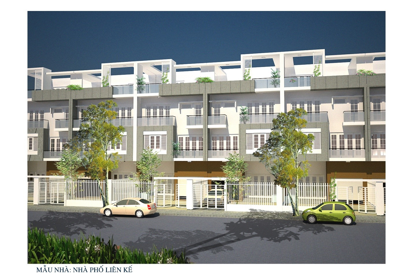 Binh Trung Dong Residential Area Project